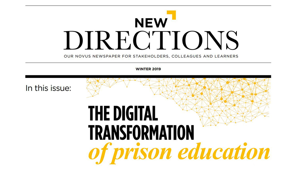 New Directions Winter 2019 Newsletter